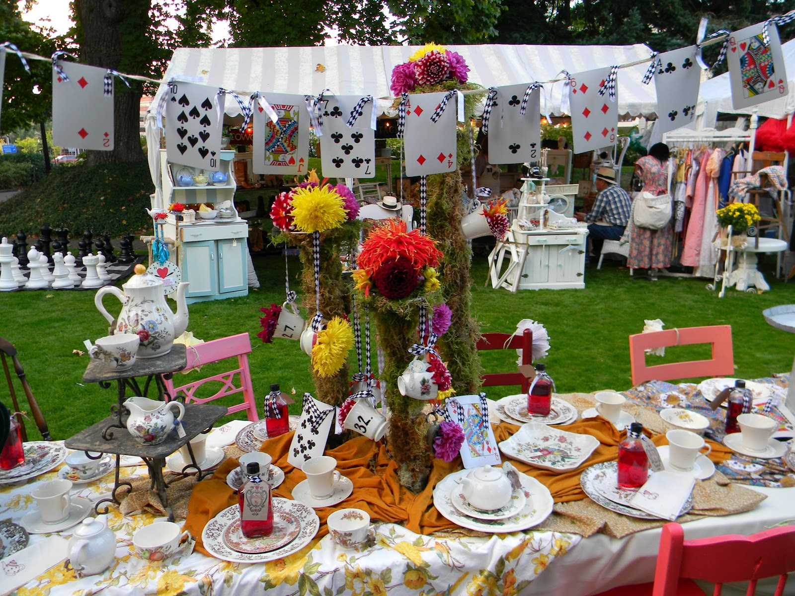 Mad Hatter Tea Party Decoration Ideas  Mere Mortal Design My House as a Laboratory Mad Hatter