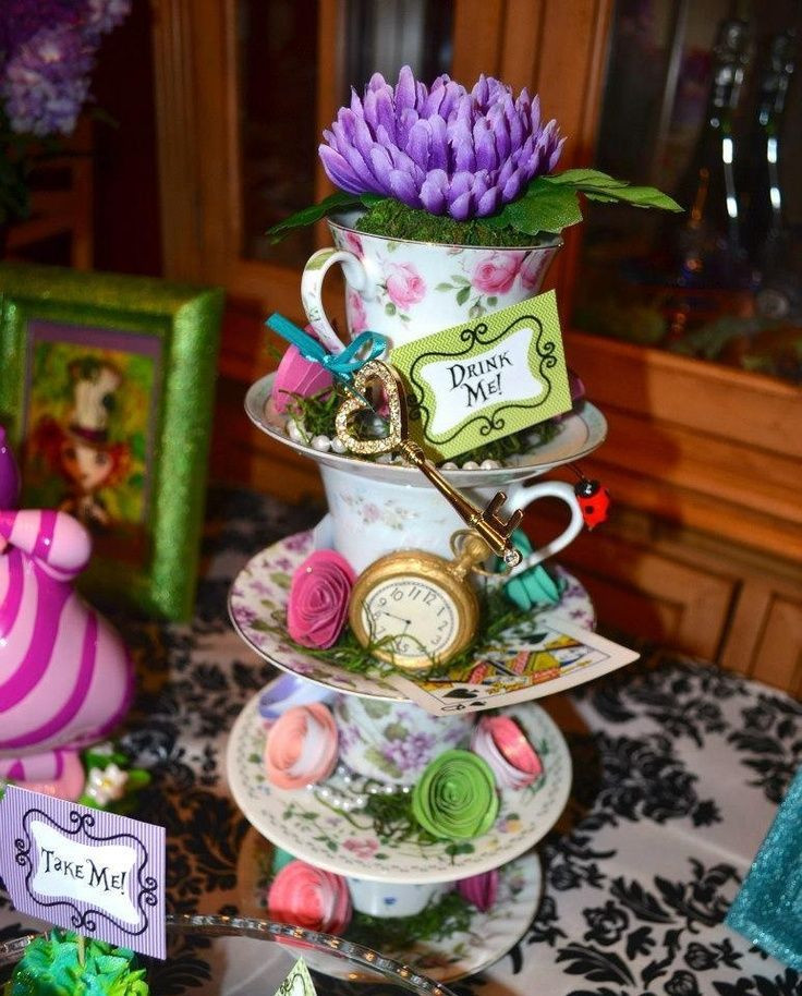 Mad Hatter Tea Party Decoration Ideas  mad hatter tea party decoration ideas Tegan s Hens