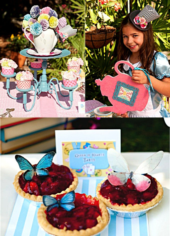 Mad Hatter Tea Party Decoration Ideas  Alice in Wonderland Mad Hatter Tea Party Ideas