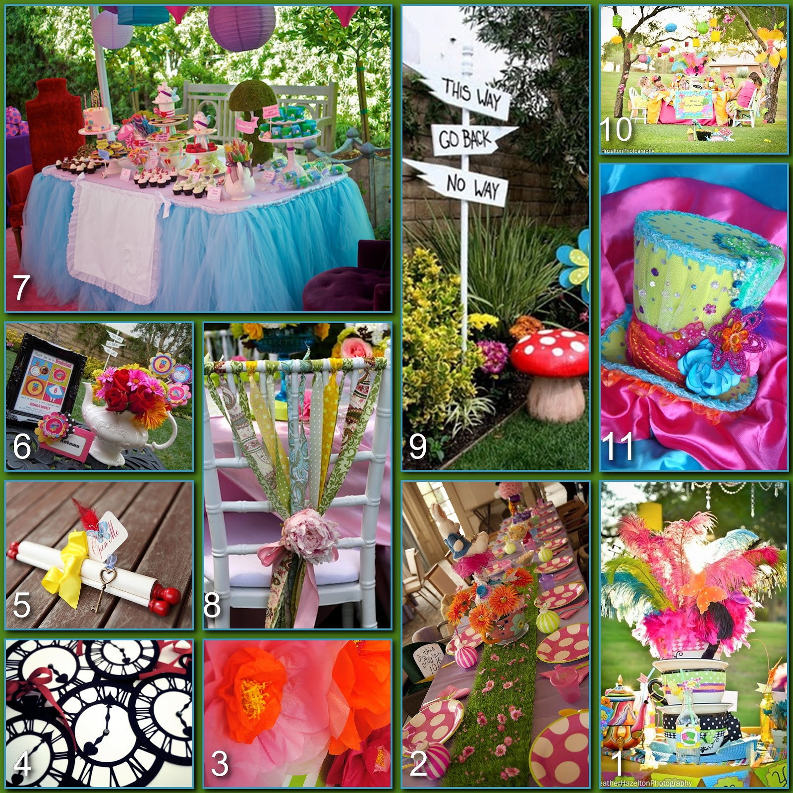 Mad Hatter Tea Party Decoration Ideas  Disney Donna Kay Disney Party Boards Mad Hatter Tea Party