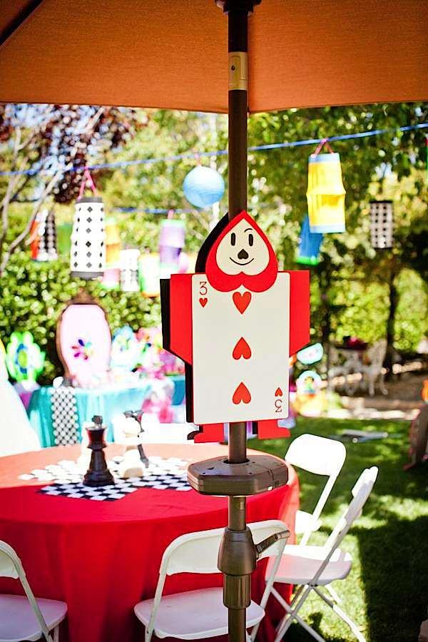 Mad Hatter Tea Party Decoration Ideas  Kara s Party Ideas Mad Hatter Tea Party