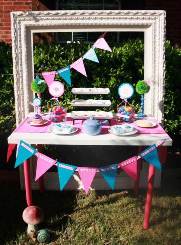 Mad Hatter Tea Party Decoration Ideas  Kara s Party Ideas Mad Hatter Girl Whimsical Tea Party