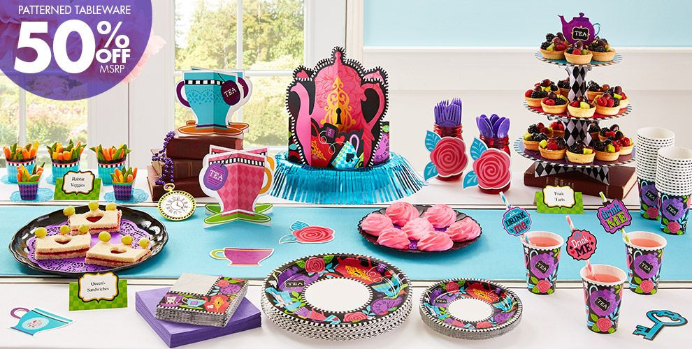 Mad Hatter Tea Party Decoration Ideas  Mad Tea Party Supplies