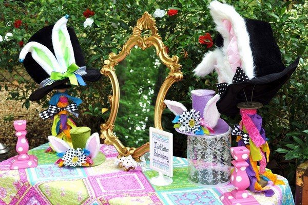 Mad Hatter Tea Party Decoration Ideas  Tea party ideas for kids and adults – themes decoration