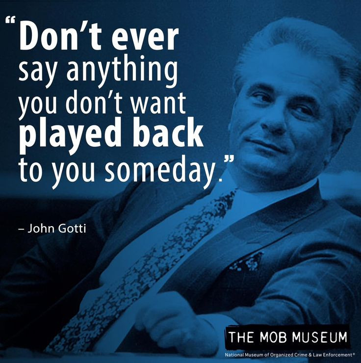 Mafia Family Quotes  61 best Wiseguy Quotes images on Pinterest