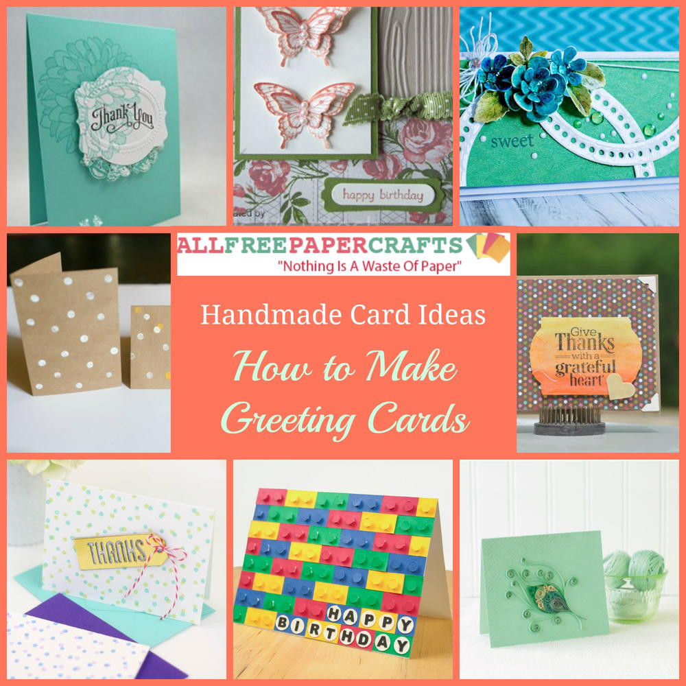 Make A Birthday Card Online  35 Handmade Card Ideas How to Make Greeting Cards