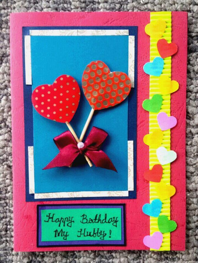 Make A Birthday Card Online  How to Make a Simple Handmade Birthday Card 15 Steps