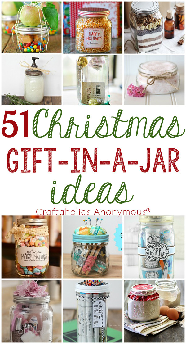 Mason Jar Gift Ideas For Christmas  Craftaholics Anonymous