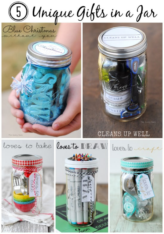 Mason Jar Gift Ideas For Christmas  Gifts In A Jar Homemade Gift Ideas