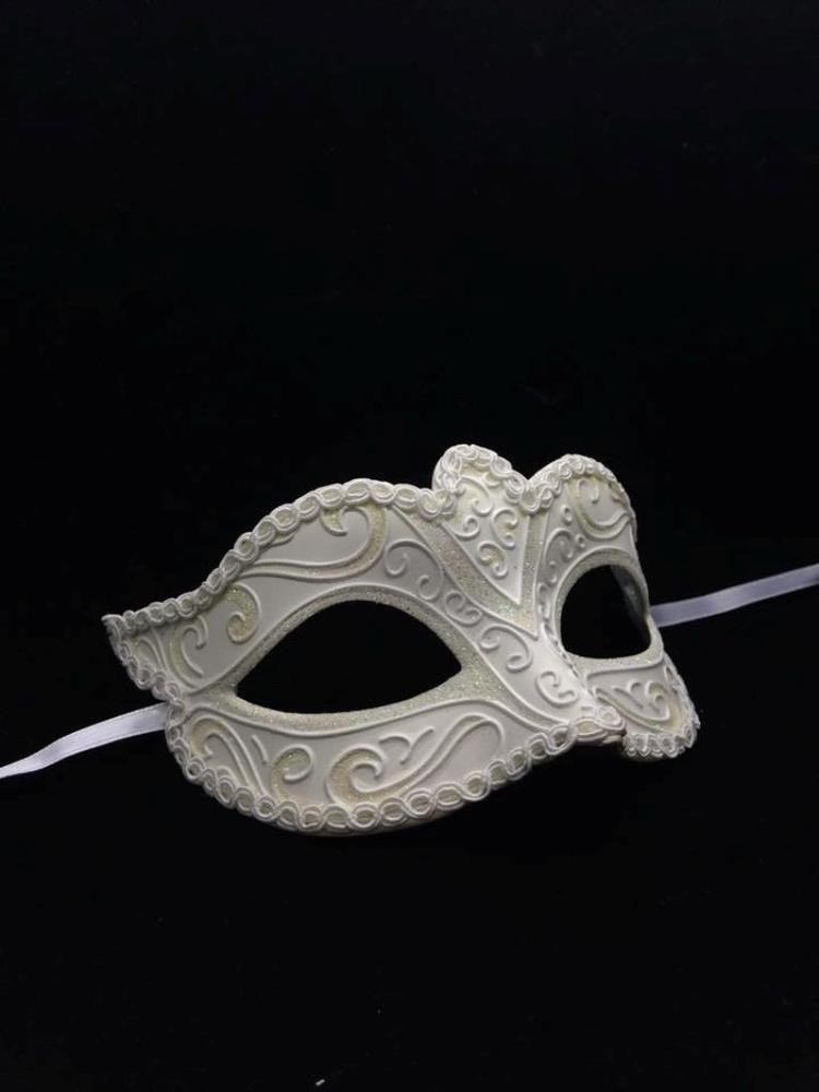 Masquerade Masks DIY  Petite Blank Masquerade Mask Venetian Cosplay Costume