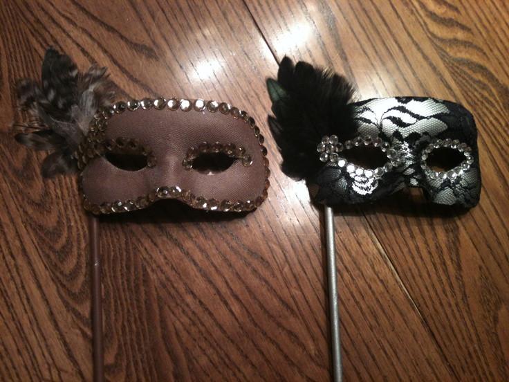 Masquerade Masks DIY  DIY Masquerade Masks