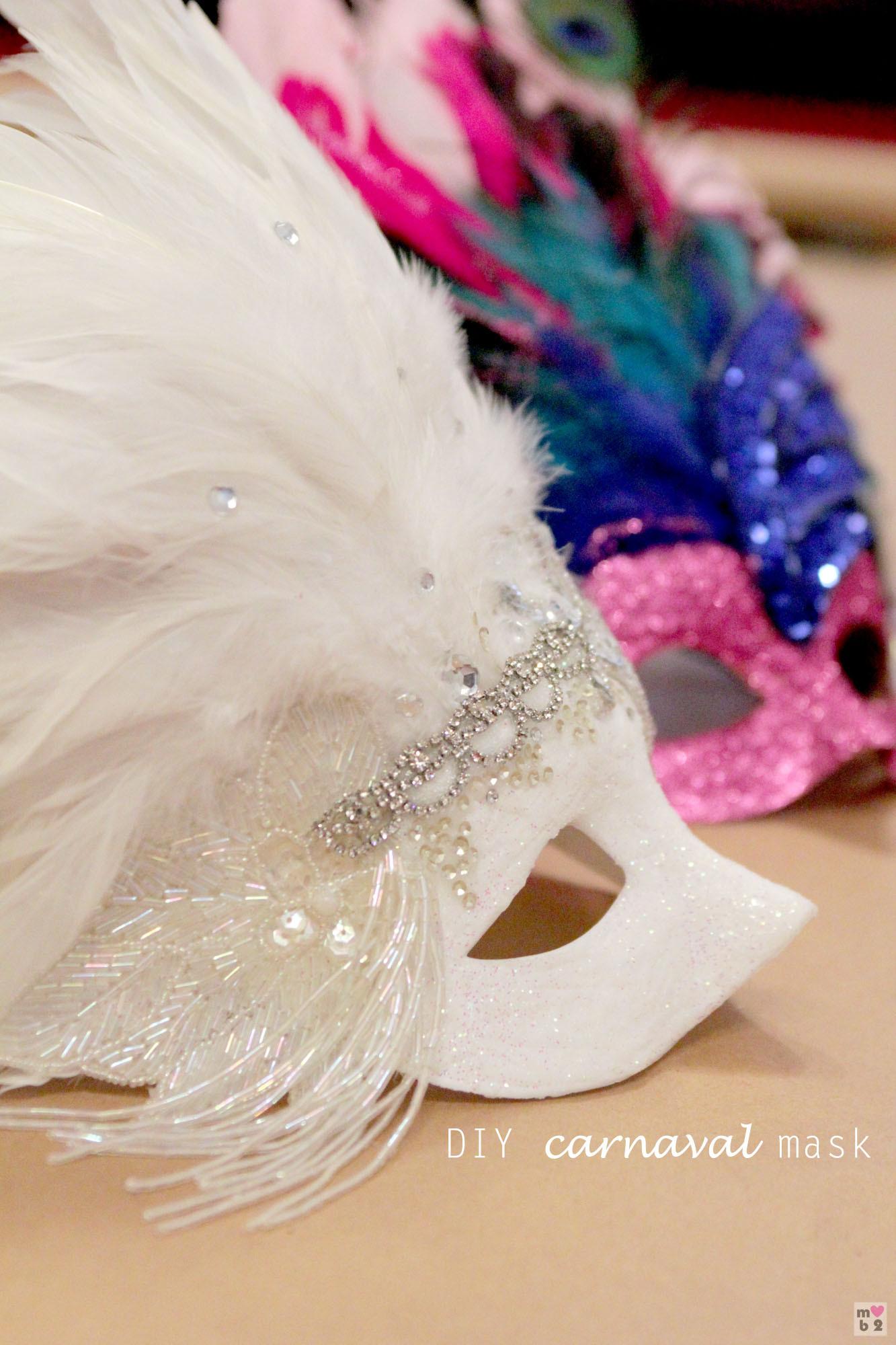 Masquerade Masks DIY  DIY Carnaval Mask