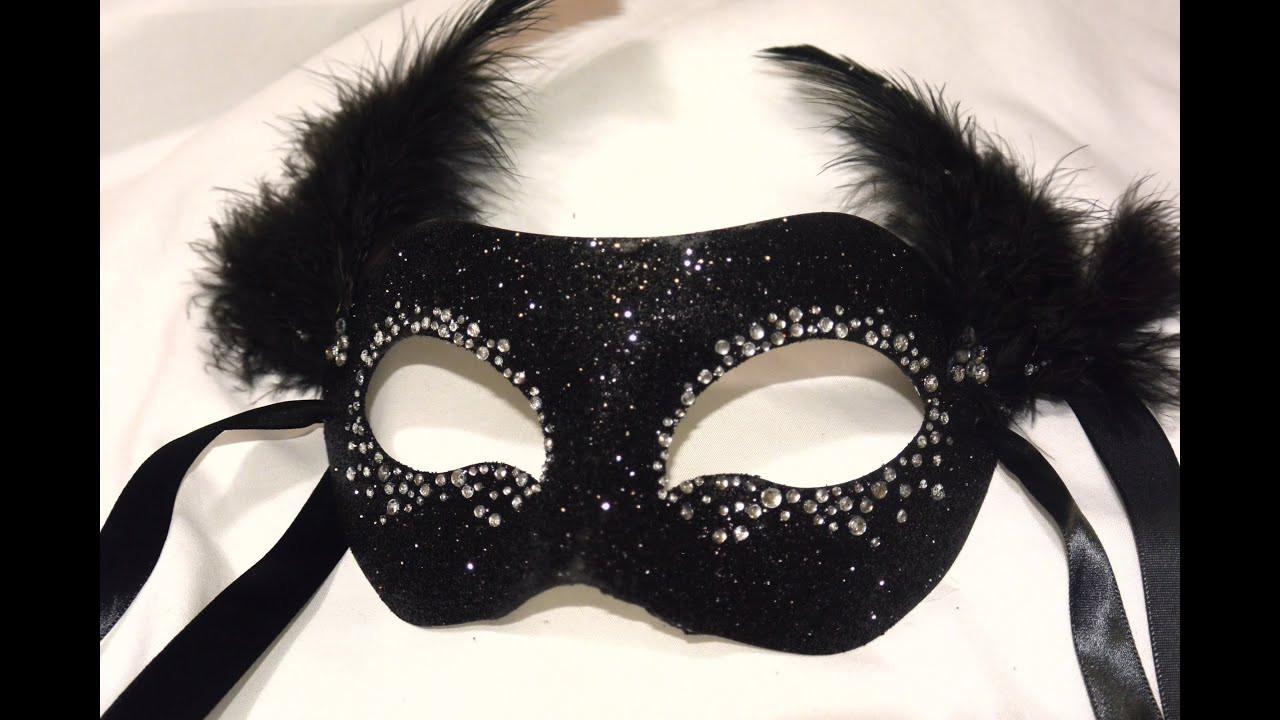 "Masquerade Masks DIY  Masquerade Mask "" Night Sky"" DIY"