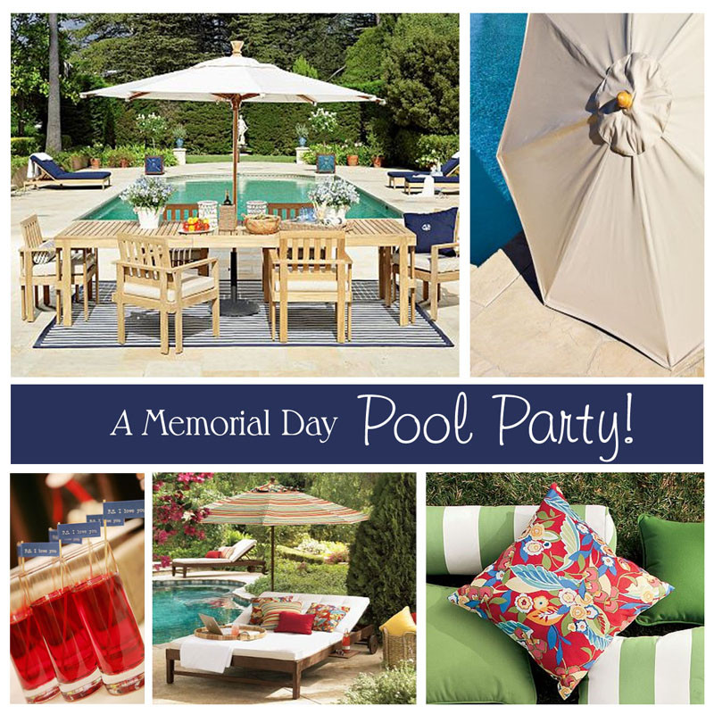 Memorial Day Pool Party Ideas  MEMORIAL DAY OUTDOOR PARTY DECOR