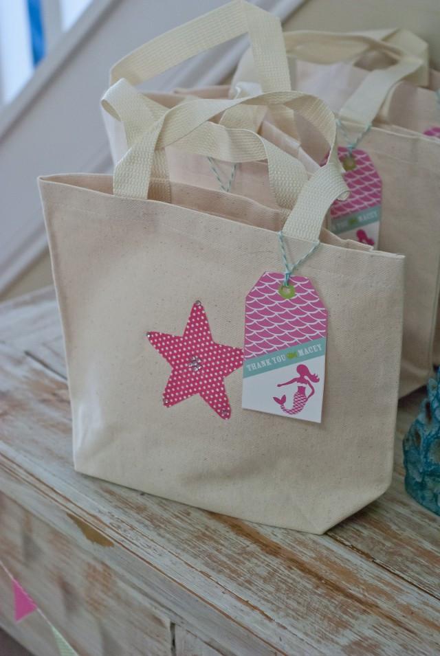 Mermaid Party Gift Bag Ideas  A Dreamy Mermaid Birthday Party Anders Ruff Custom