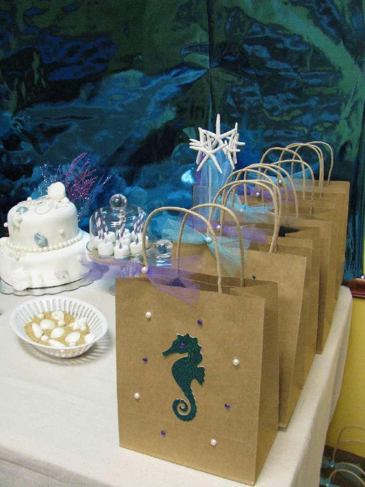 Mermaid Party Gift Bag Ideas  Mermaids Under the Sea Birthday Party Ideas