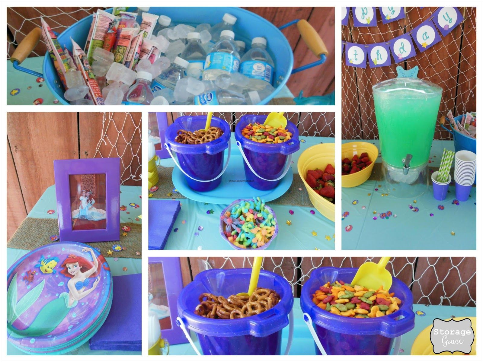 Mermaid Party Ideas 4 Year Old  Kylie turned 4 years old this past May and requested a