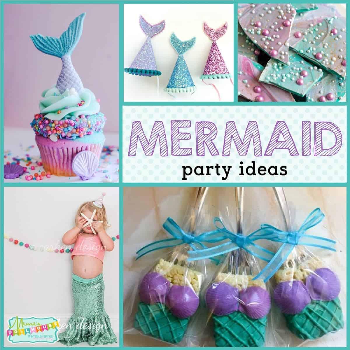 Mermaid Party Ideas 4 Year Old  Mermaid Party Mermaid Party Ideas Mimi s Dollhouse