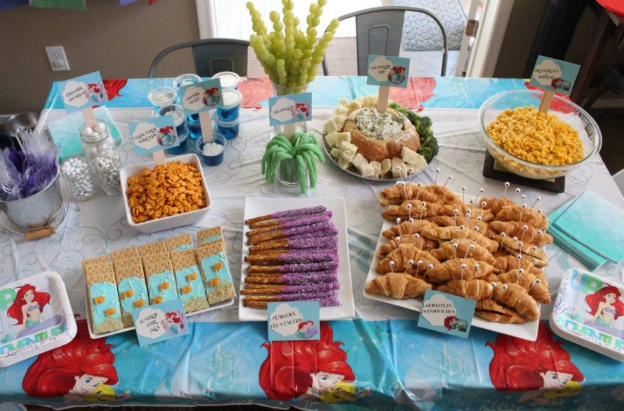 Mermaid Party Ideas 4 Year Old  A Little Mermaid Birthday Party for a Sweet Four Year Old