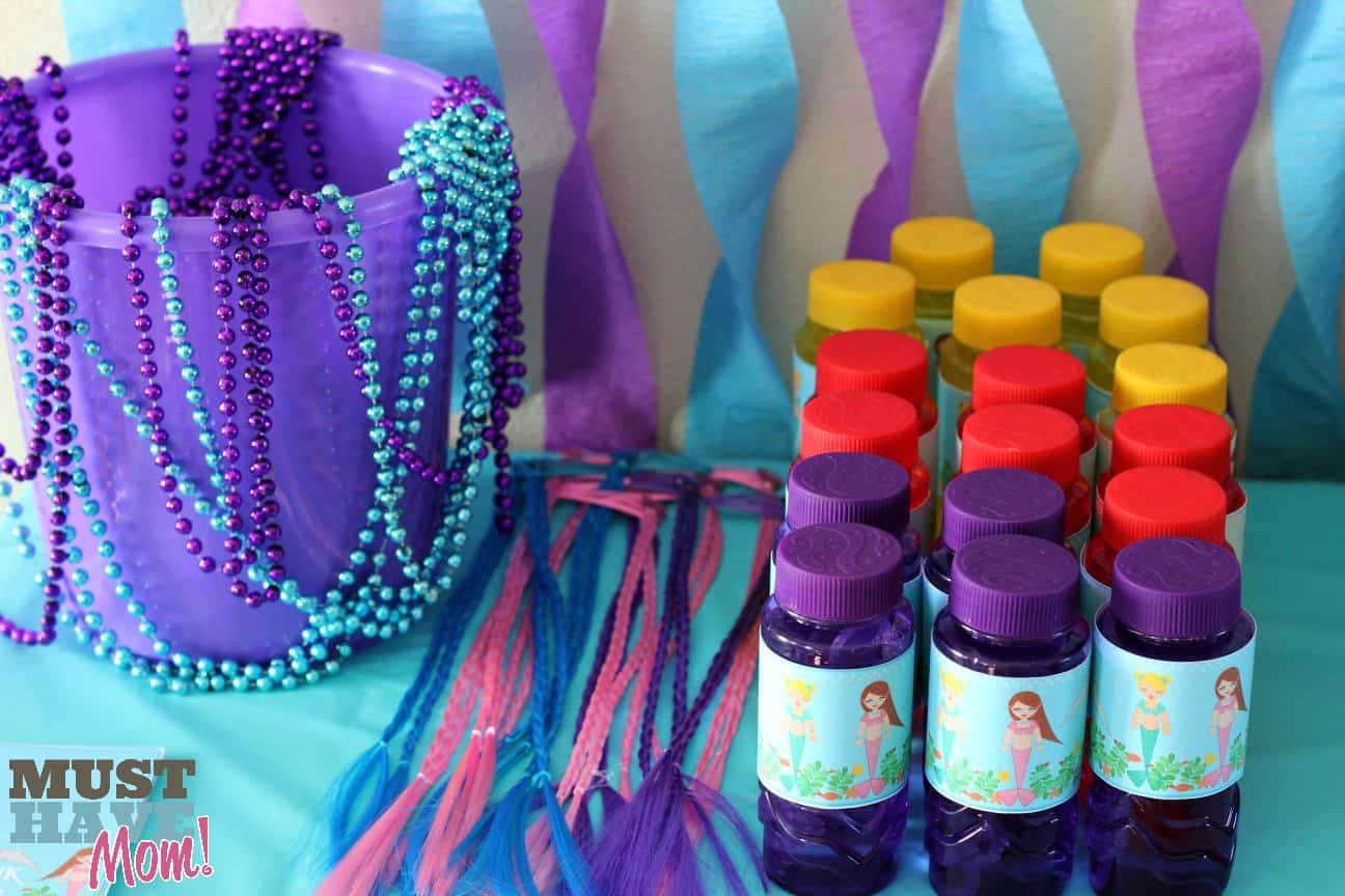 Mermaid Party Ideas 4 Year Old  Mermaid Birthday Party Ideas Decor Free Mermaid