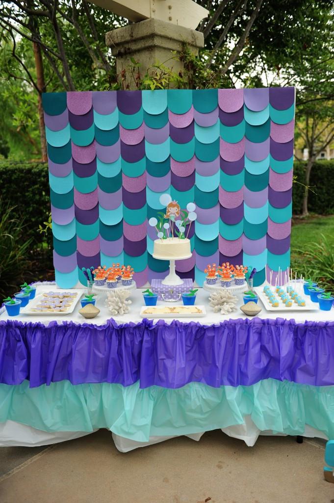 Mermaid Party Ideas 4 Year Old  Mermaid Birthday Pool Party Ideas DIY