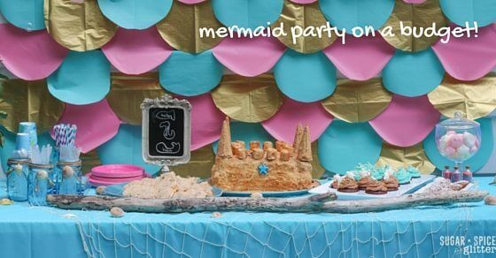 Mermaid Party Ideas 4 Year Old  Mermaid Birthday Party ⋆ Sugar Spice and Glitter