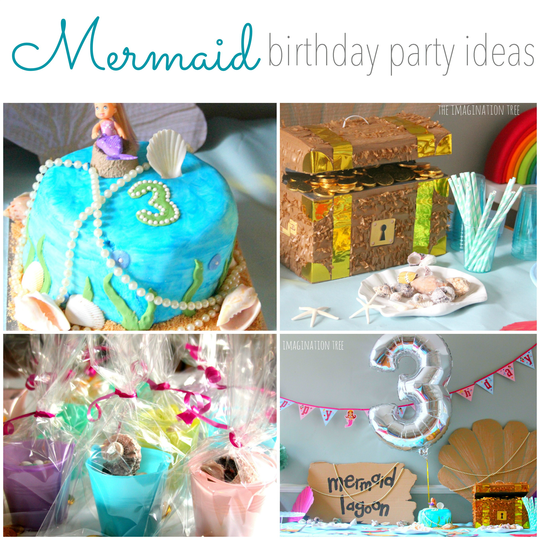 Mermaid Party Ideas 4 Year Old  Mermaid Birthday Party Ideas The Imagination Tree