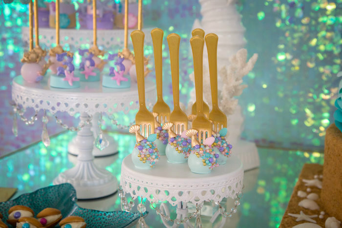 Mermaid Party Theme Ideas  Kara s Party Ideas Mermaid Cove Birthday Party