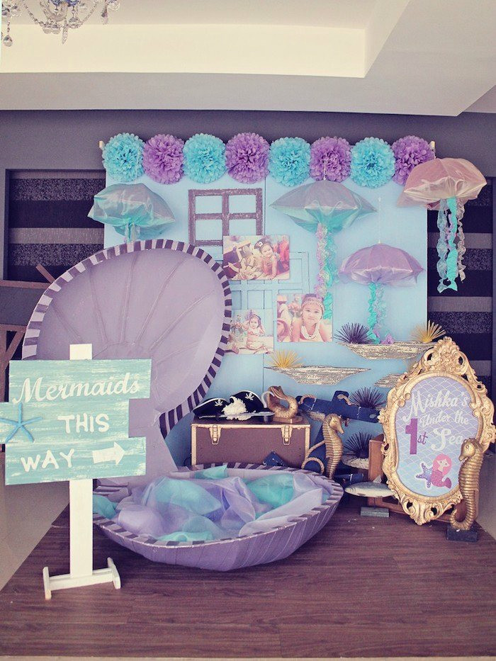 Mermaid Party Theme Ideas  21 Marvelous Mermaid Party Ideas for Kids