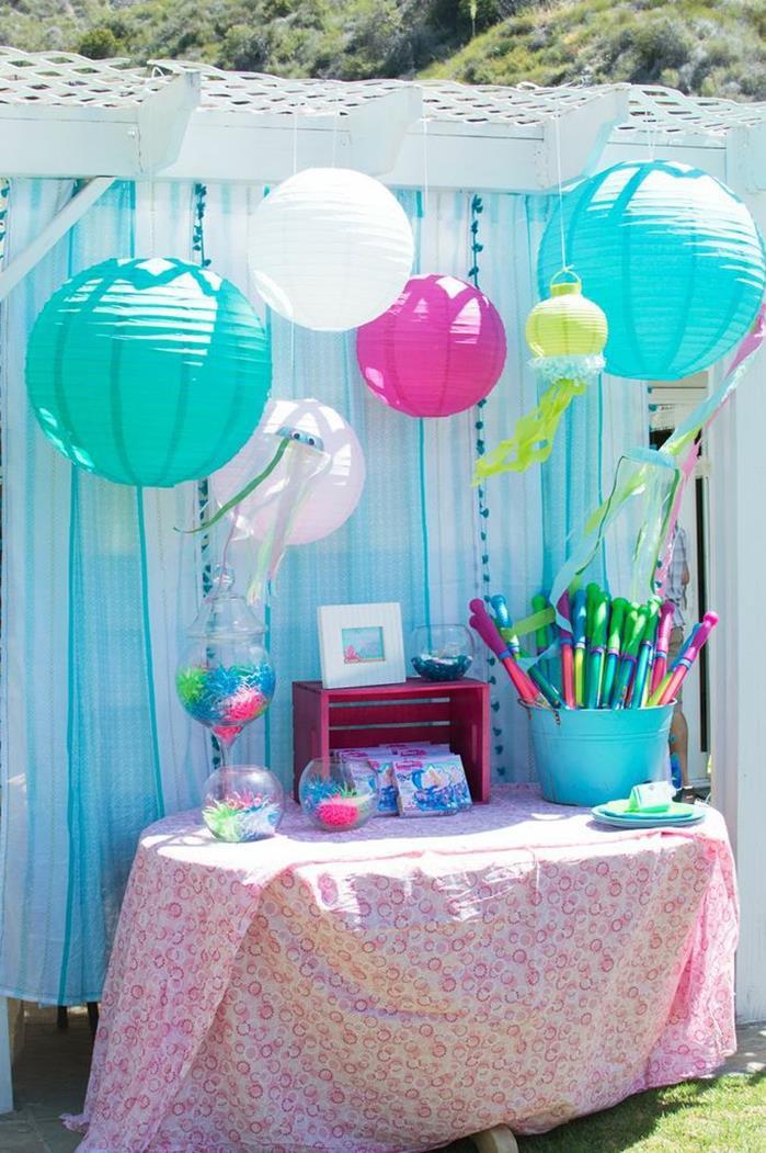 Mermaid Party Theme Ideas  Kara s Party Ideas Mermaid Princess Birthday Party