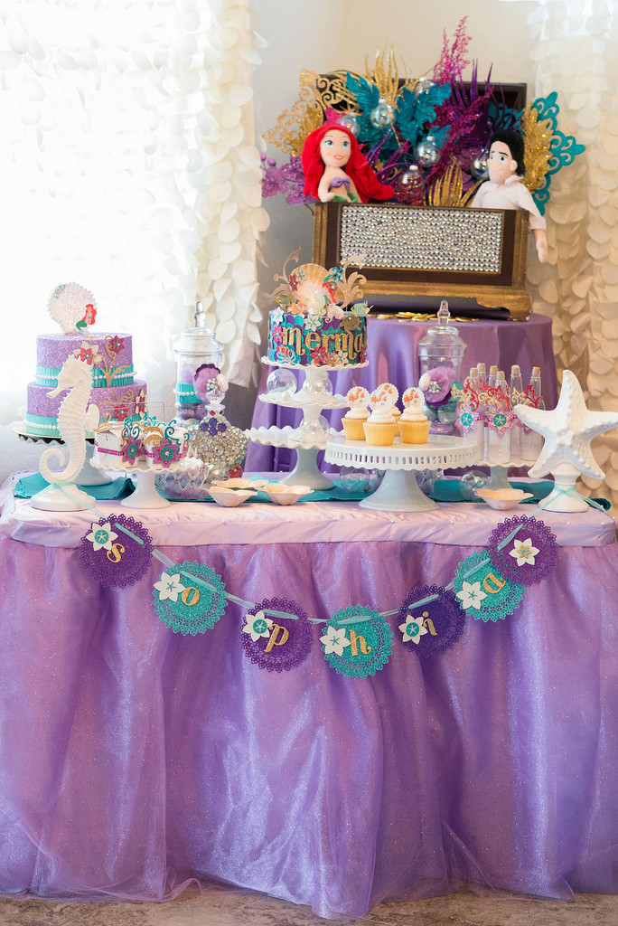 Mermaid Party Theme Ideas  The Little Mermaid Inspired Party