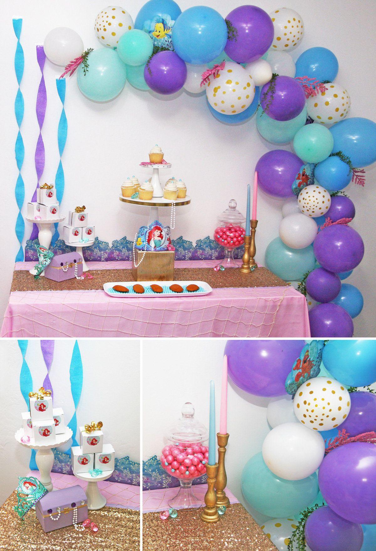 Mermaid Party Theme Ideas  Little Mermaid Party Ideas