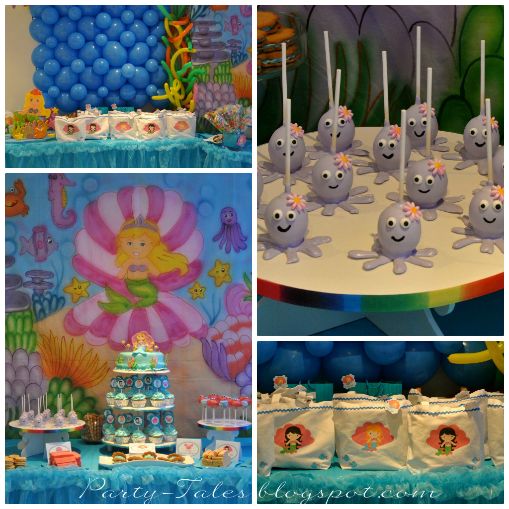 Mermaid Under The Sea Party Ideas  Party Tales Birthday Party Under the Sea Birthday