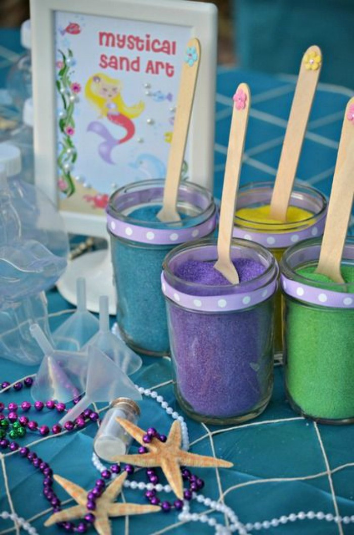 Mermaid Under The Sea Party Ideas  21 Marvelous Mermaid Party Ideas for Kids