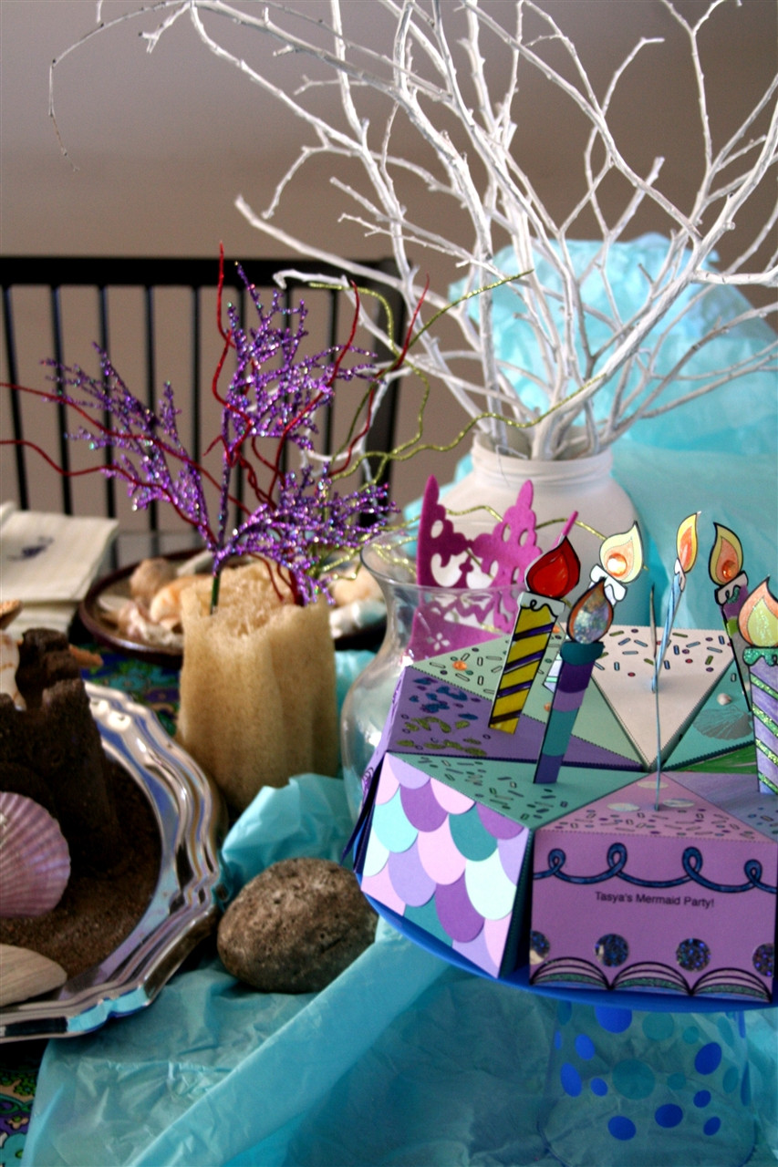 Mermaid Under The Sea Party Ideas  fiesta de sirenas bajo el mar