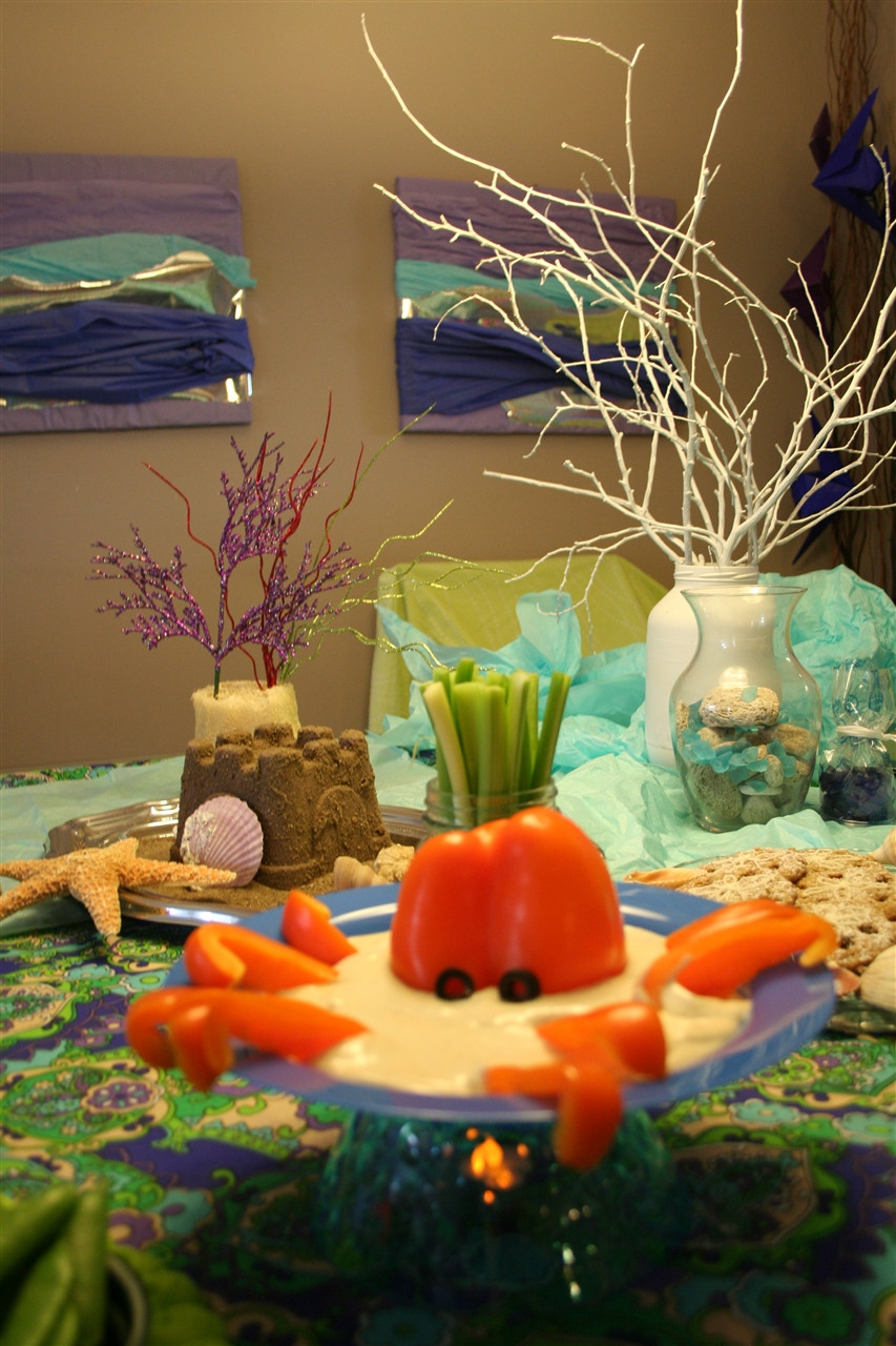 Mermaid Under The Sea Party Ideas  Kids' Under the Sea Party Food