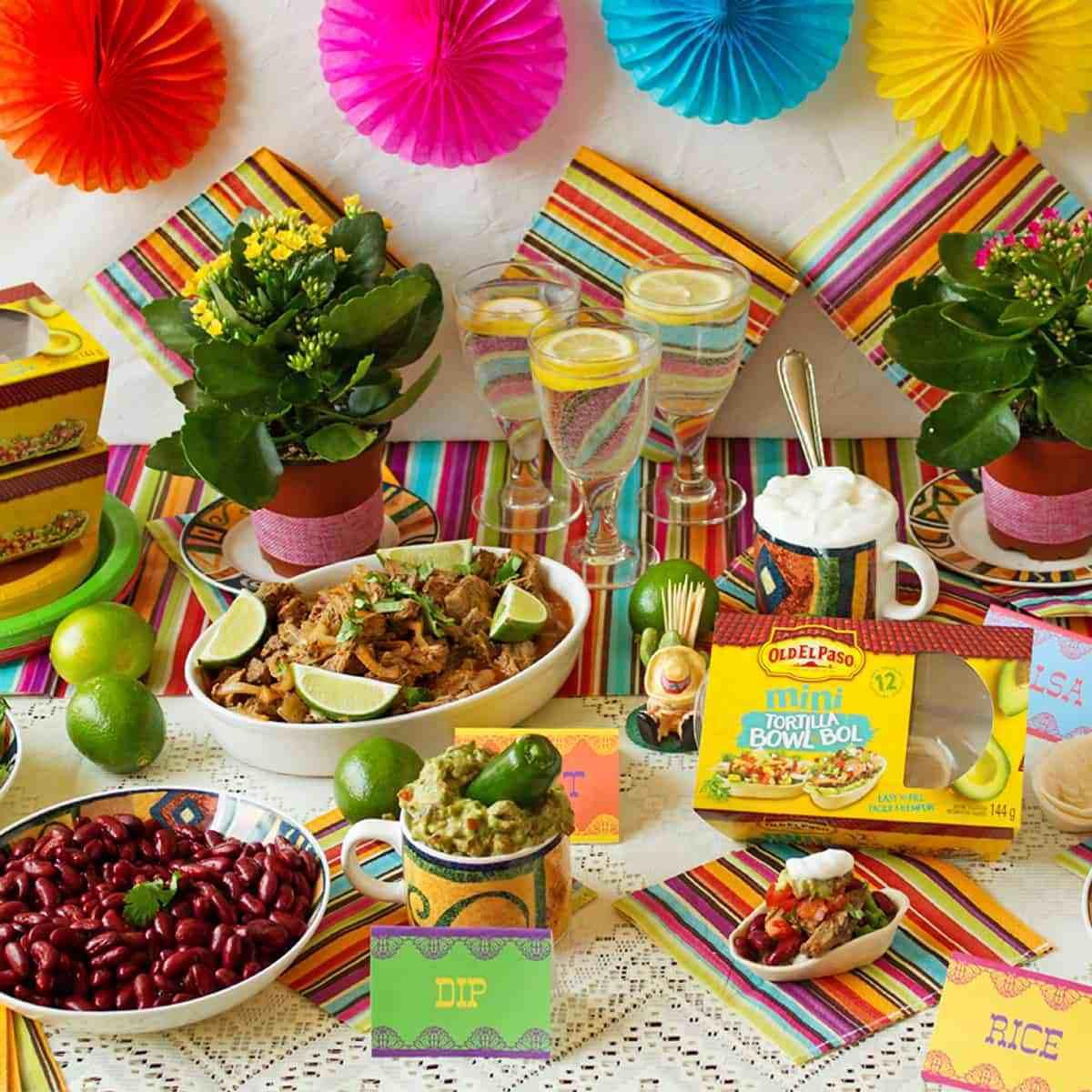 Mexican Dinner Party Menu Ideas  Mexican Buffet Menu Ideas Ilona s Passion