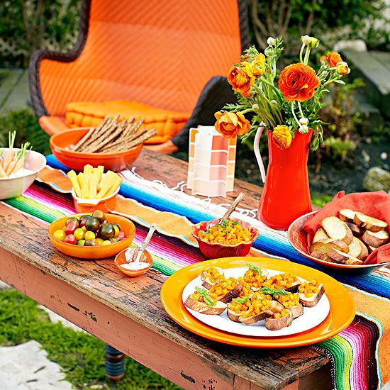 Mexican Dinner Party Menu Ideas  60 best images about Mexican Fiesta Tablescape