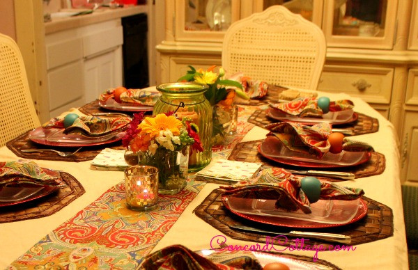 Mexican Dinner Party Menu Ideas  Mexican DInner party Ideas table setting flowers food