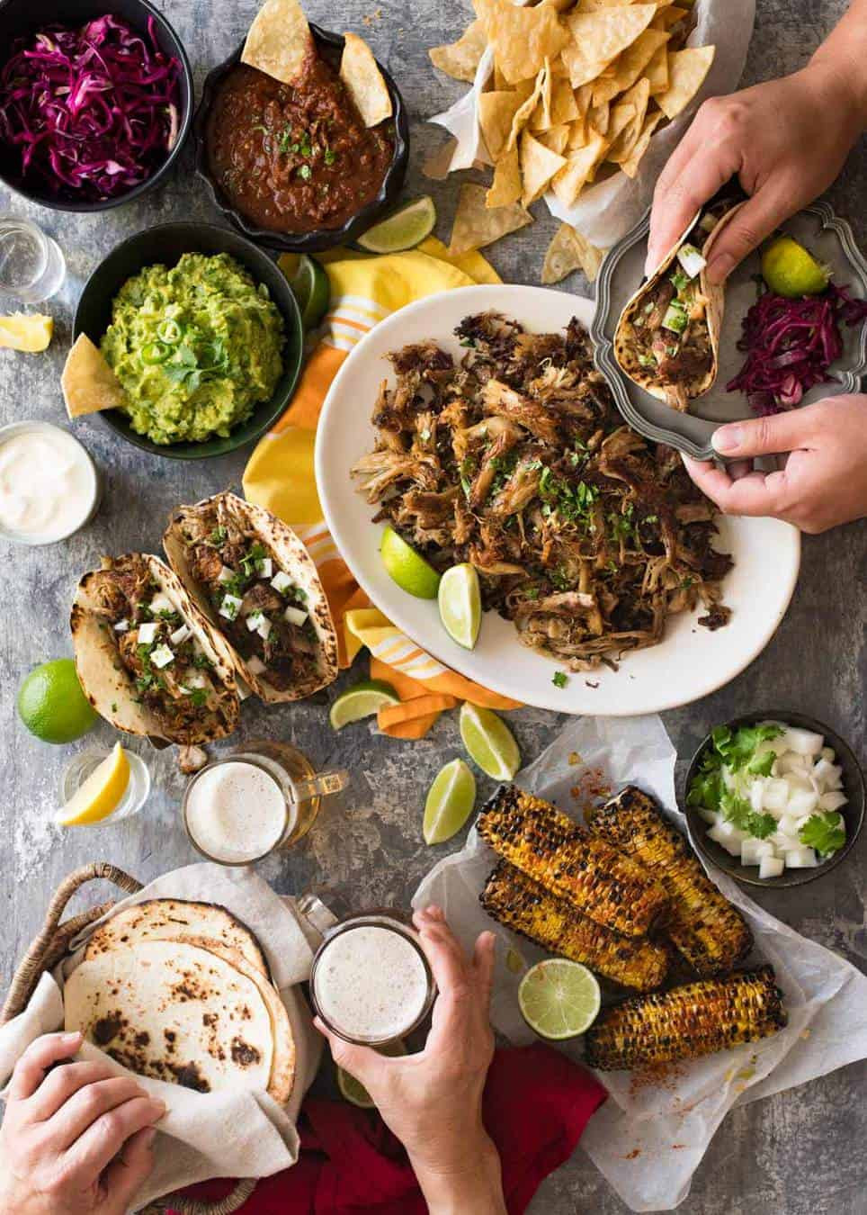 Mexican Dinner Party Menu Ideas  A Big Mexican Fiesta That s Easy to Make
