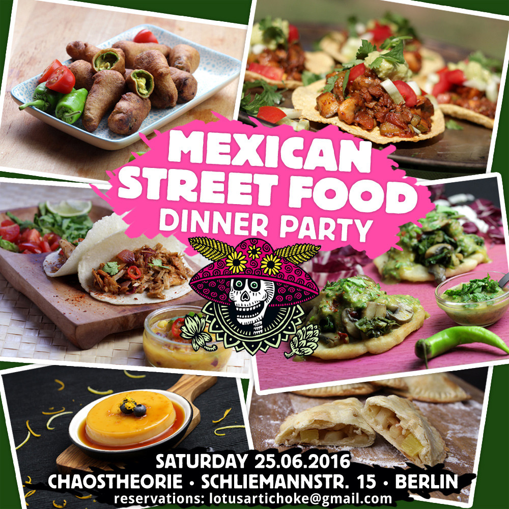 Mexican Dinner Party Menu Ideas  The Lotus and the Artichoke Vegan Recipes from World