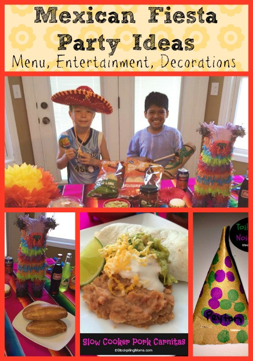 Mexican Dinner Party Menu Ideas  Mexican Fiesta Party Ideas