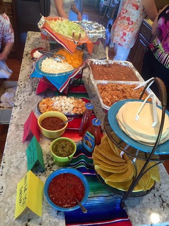 Mexican Dinner Party Menu Ideas  Pin by Erin Kampf Melillo on Mexican food bday