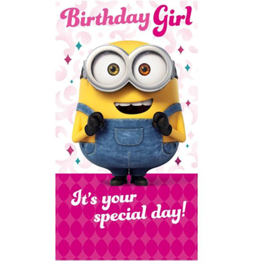 Minions Birthday Card Printable  Minion Birthday Card Collection
