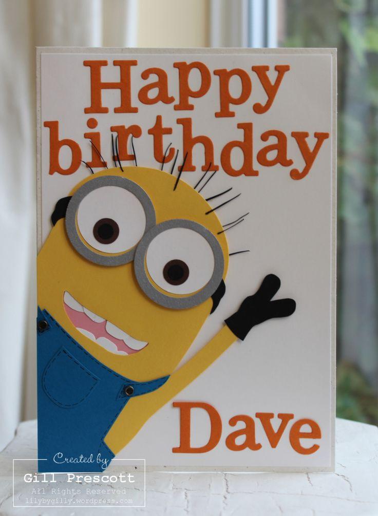 Minions Birthday Card Printable  Best 25 Minion card ideas on Pinterest