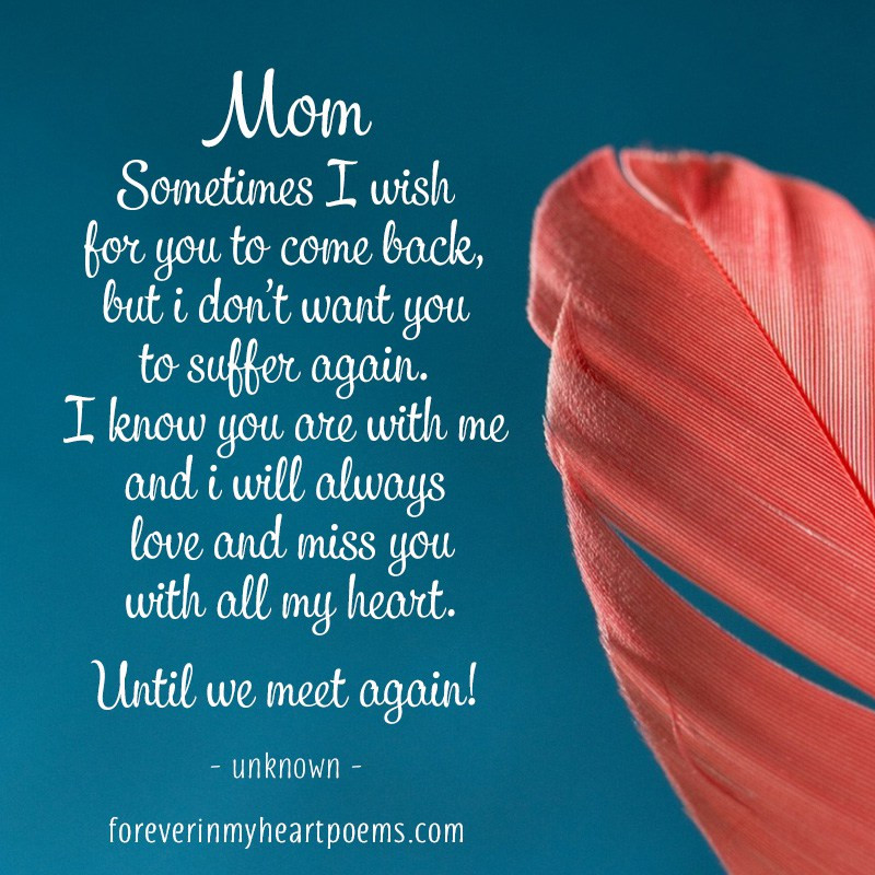 Missing My Mother Quotes  50 Best Missing My Mom Quotes From Daughter & Son I