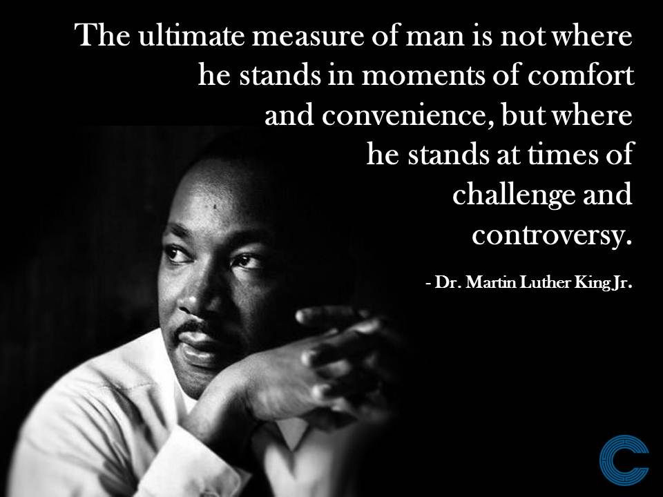 Mlk Quotes Leadership  Leadership & Management Quote from Martin Luther King