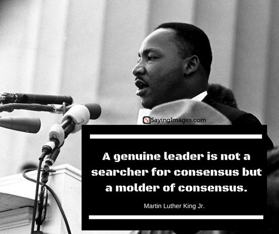 Mlk Quotes Leadership  INSPIRATIONAL QUOTES BY MARTIN LUTHER KING Jr The