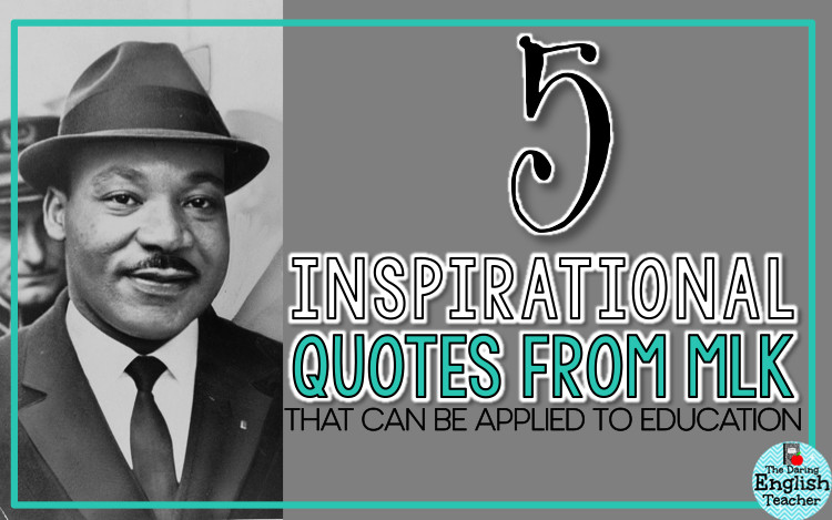 Mlk Quotes On Education  5 Inspirational Quotes about Education from Dr Martin
