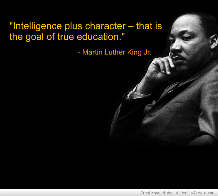 Mlk Quotes On Education  Mlk Quotes Education QuotesGram